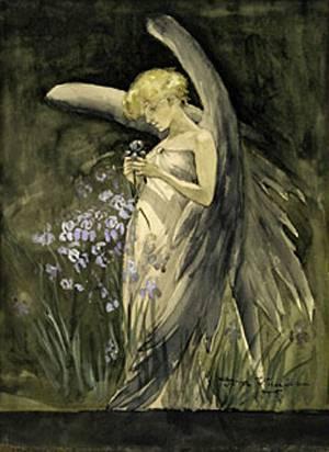 Dora-Wheeler-XX-Fairy-in-Irises-1888