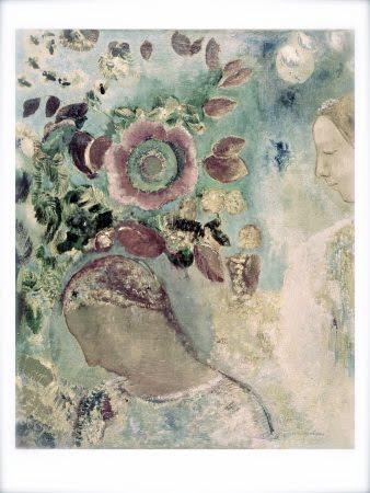 odilon-redon-two-girls-among-the-flowers